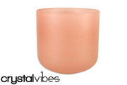 "7"" Translucent Sunstone Fusion Crystal Singing Bowl"