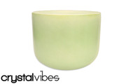 "11"" Empyrean Prehnite Crystal Singing Bowl"