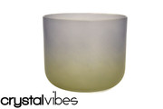"10"" Translucent Emuorite Fusion Crystal Singing Bowl"