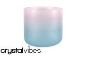 "6"" Translucent Aquanite Fusion Crystal Singing Bowl"