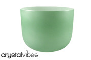 "11"" Empyrean Malachite Quartz Crystal Singing Bowl"