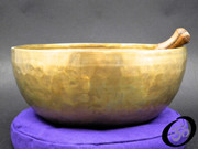 Hand Hammered Himalayan Singing Bowl 10""