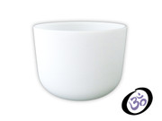 """9"""" FROSTED CRYSTAL SINGING BOWL"""