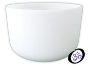 """16"""" FROSTED CRYSTAL SINGING BOWL"""
