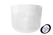 "8"" CRYSTAL CLEAR CHAKRA SINGING BOWL"