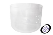 "9"" CRYSTAL CLEAR CHAKRA SINGING BOWL"