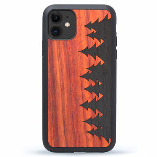 Wood iPhone 13 Case Forest
