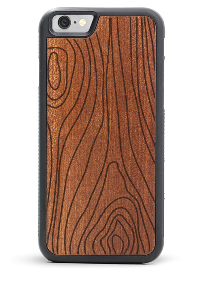 iPhone 6/6s Engraved Wood Cases