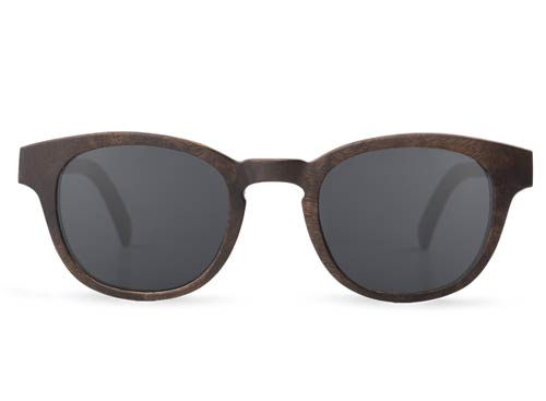 Boundary Walnut Burl Wood Sunglasses