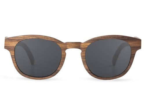 Black Walnut Wood Sunglasses