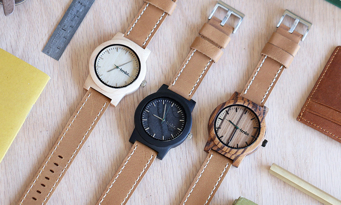 Tmbr Mill Wood Watches