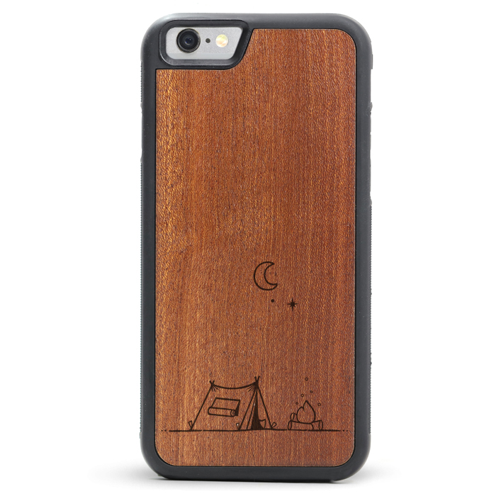 David Powell x Tmbr Wooden iPhone 8 / X Cases