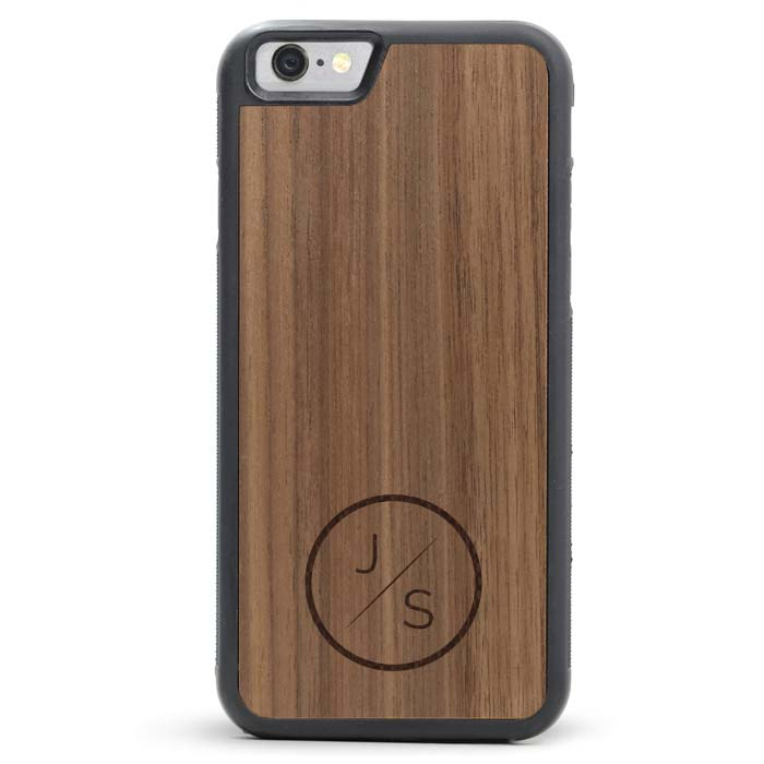 Custom Engraved Wood iPhone Loop Case
