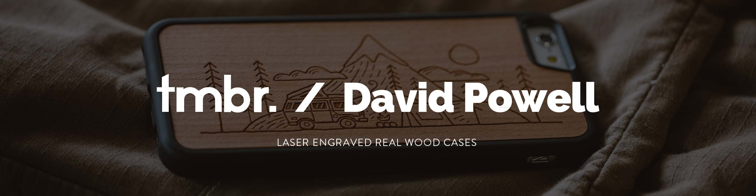 David Powell Wood iPhone 7/8/X Cases