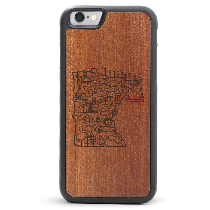 David Powell x Tmbr Wood iPhone 8 / 8 Plus Cases