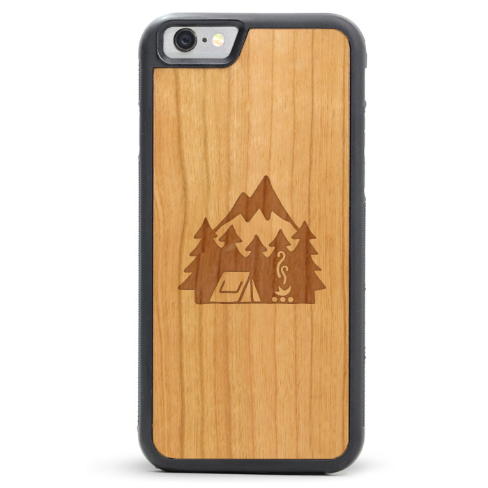 David Powell Tmbr Wood iPhone 8 / X Cases