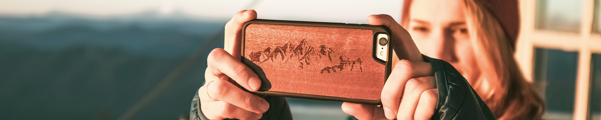 Engraved Wood iPhone 6/7 Engraved Cases