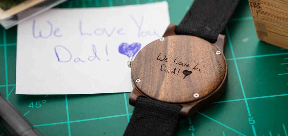 Wood Watch - Gifts For Dad From Daughter or Son