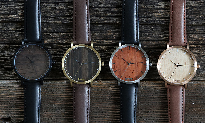 Tmbr Helm Wood Watches