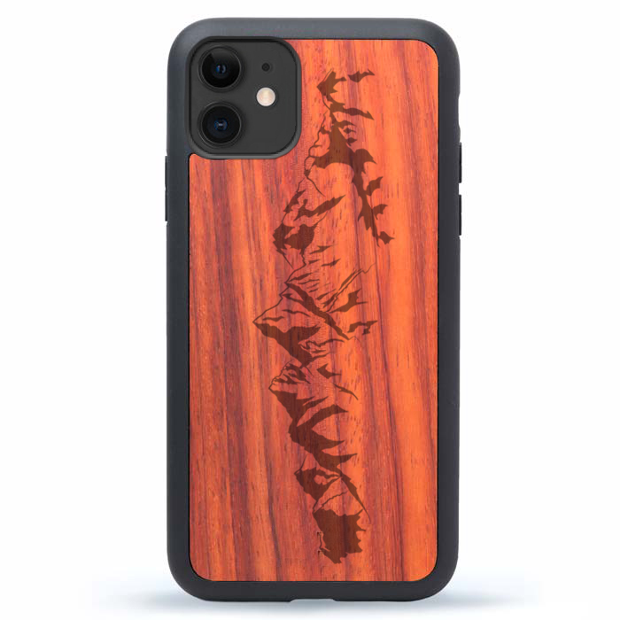 iPhone 13 Case Wood Mountains