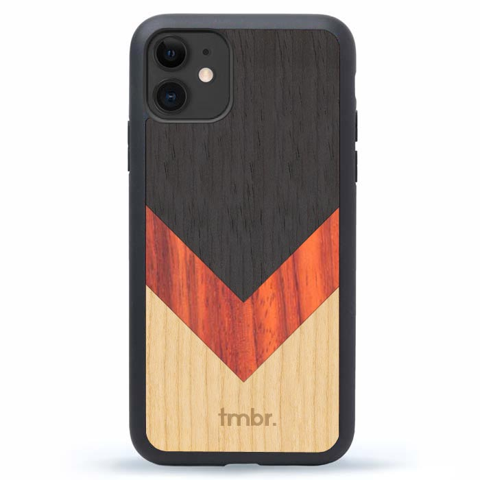iPhone 12 Wood Phone Case
