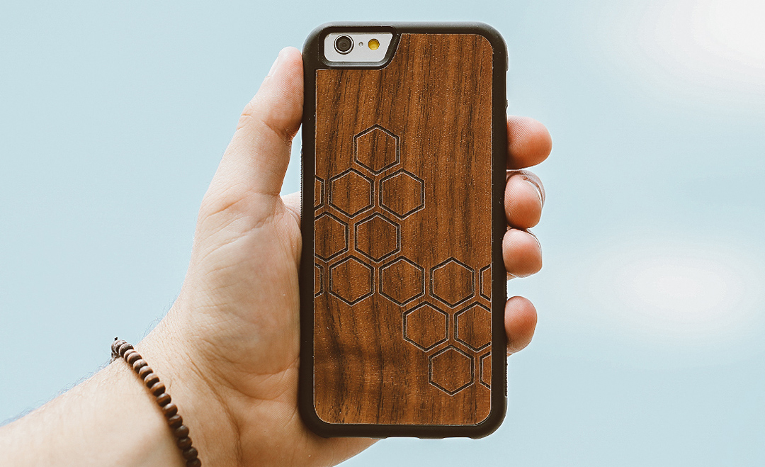 Laser Engraved iPhone 7/7 Plus Wood Cases