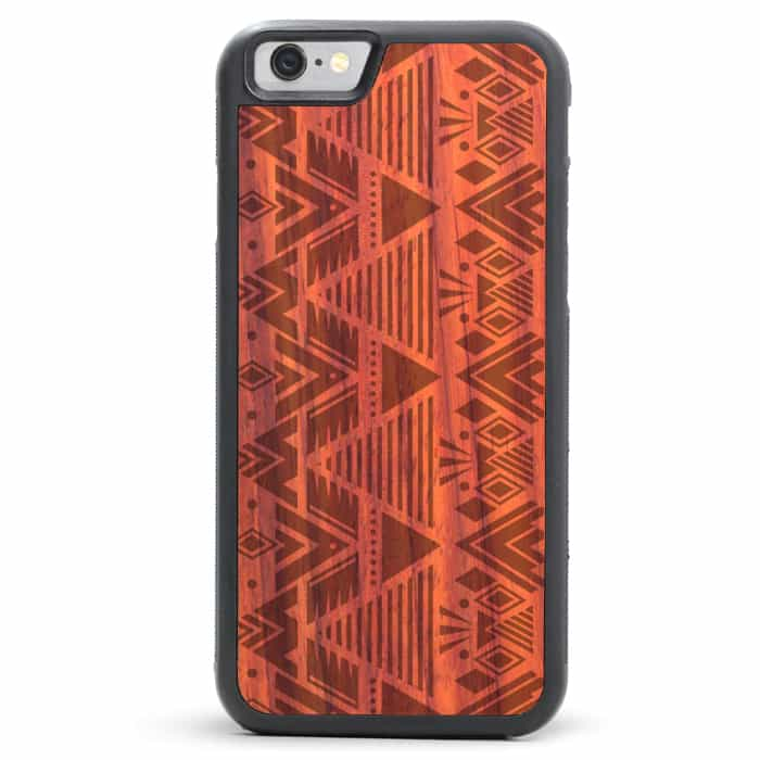 Tribal iPhone SE Wood Case