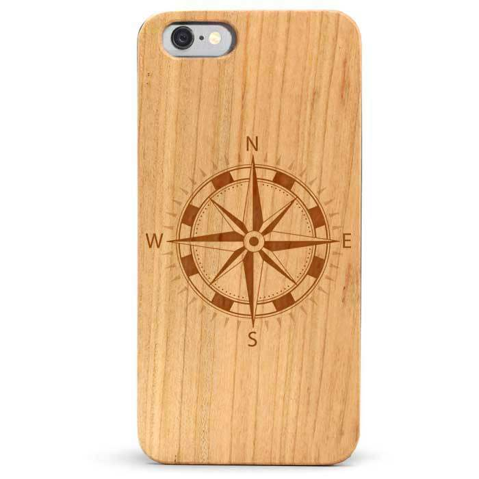 Slim Wood iPhone 6s Case - Compass