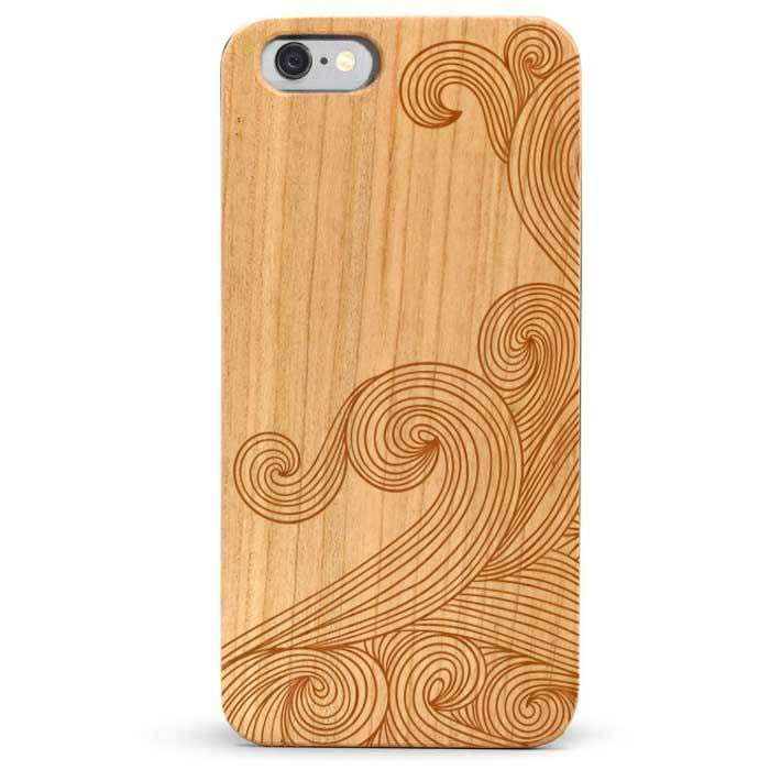 Slim Wood iPhone 6s Case - Waves