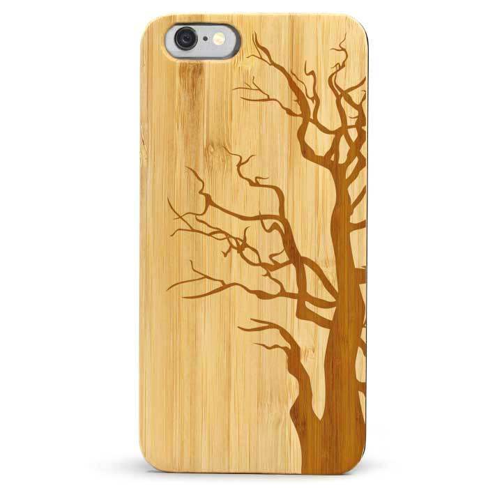 Slim Wood iPhone 6s Case - Tree Trunk