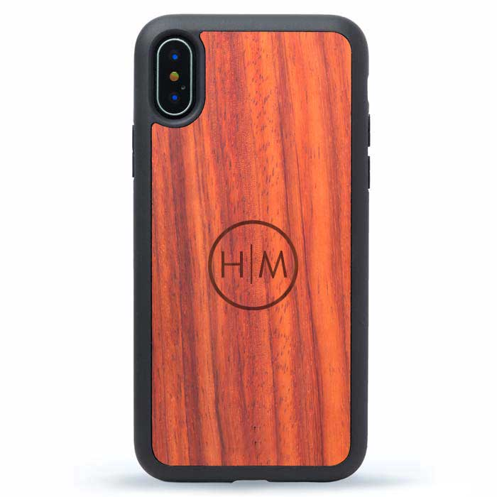 Wood iPhone X Cases