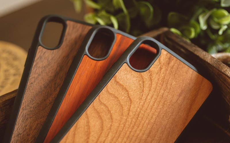 Wood iPhone X Cases - Real Wood