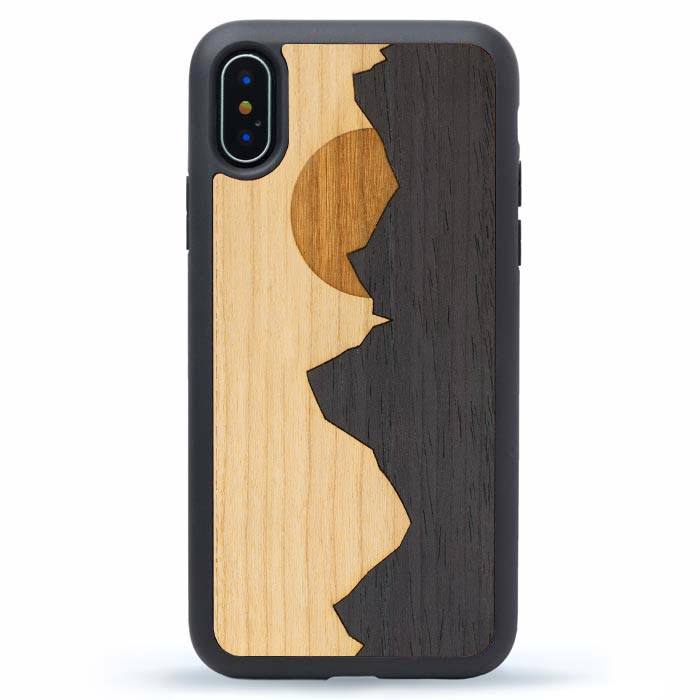 iPhone XS Max Wood Case Grand Teton