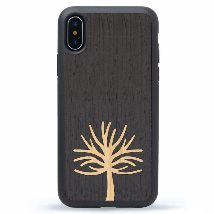 iPhone XS Max Wood Tree Case