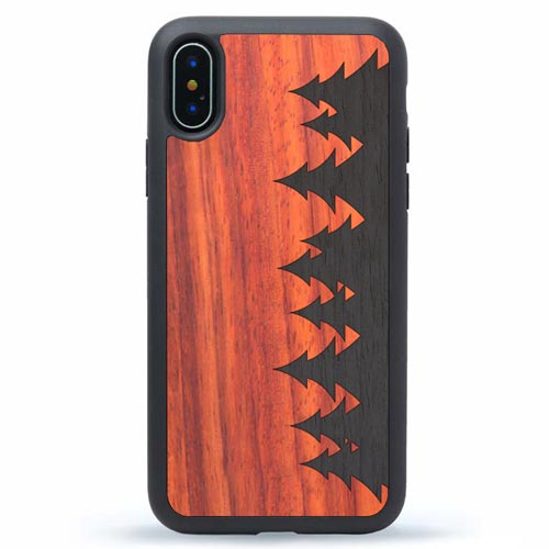 iPhone X Dark Forest Case