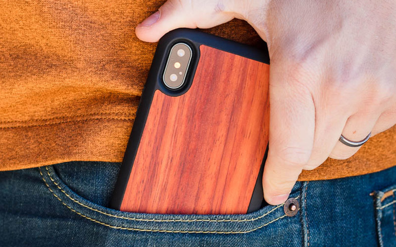 Wood iPhone XS Cases