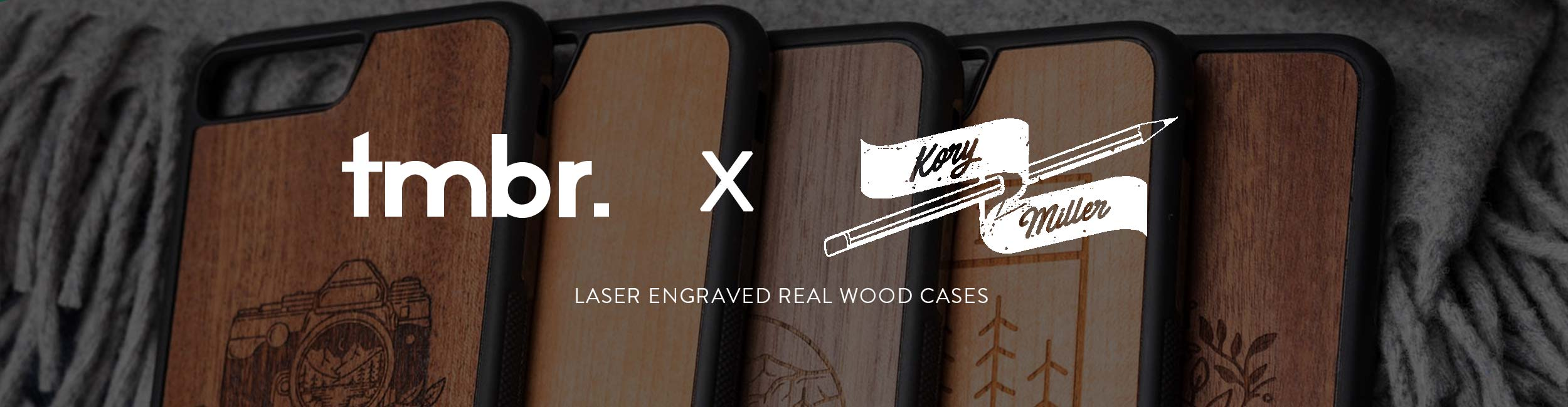 Kory Miller Wood iPhone 7/8 Cases