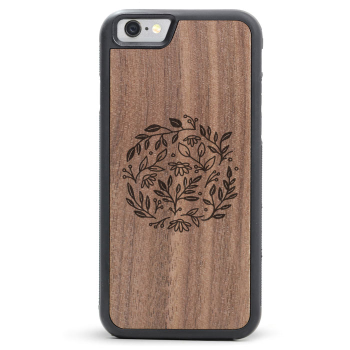 Kory Miller x Tmbr Wooden iPhone 8 / X Cases