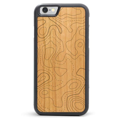Topographical Map Case