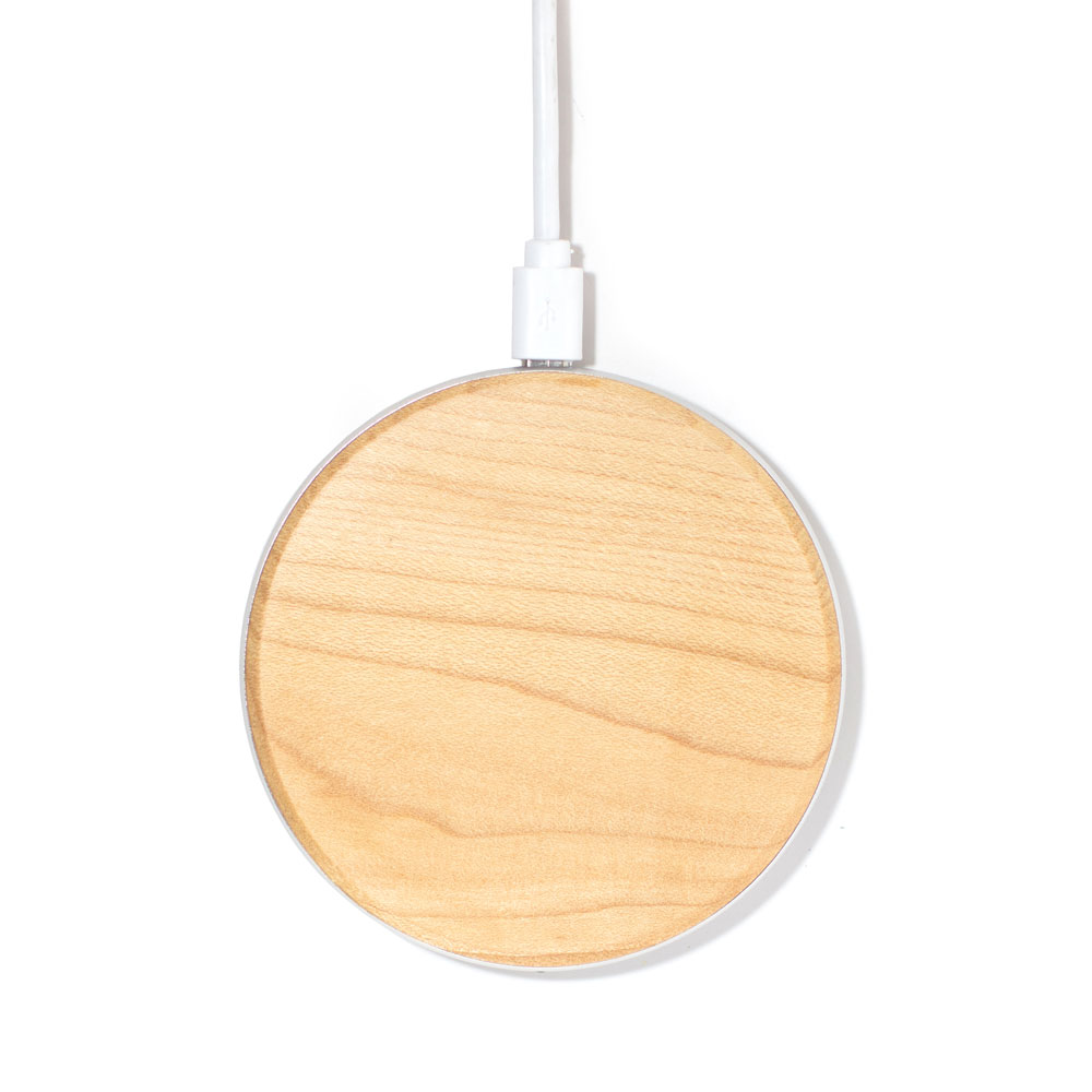 Wood Wireless Charger Walnut