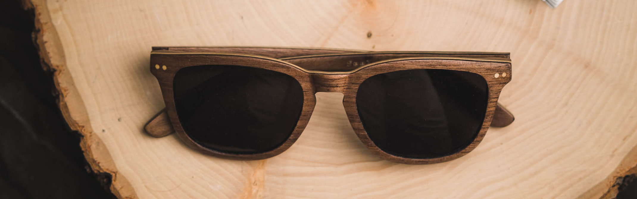 Tmbr. Men's Wood Frame Sunglasses