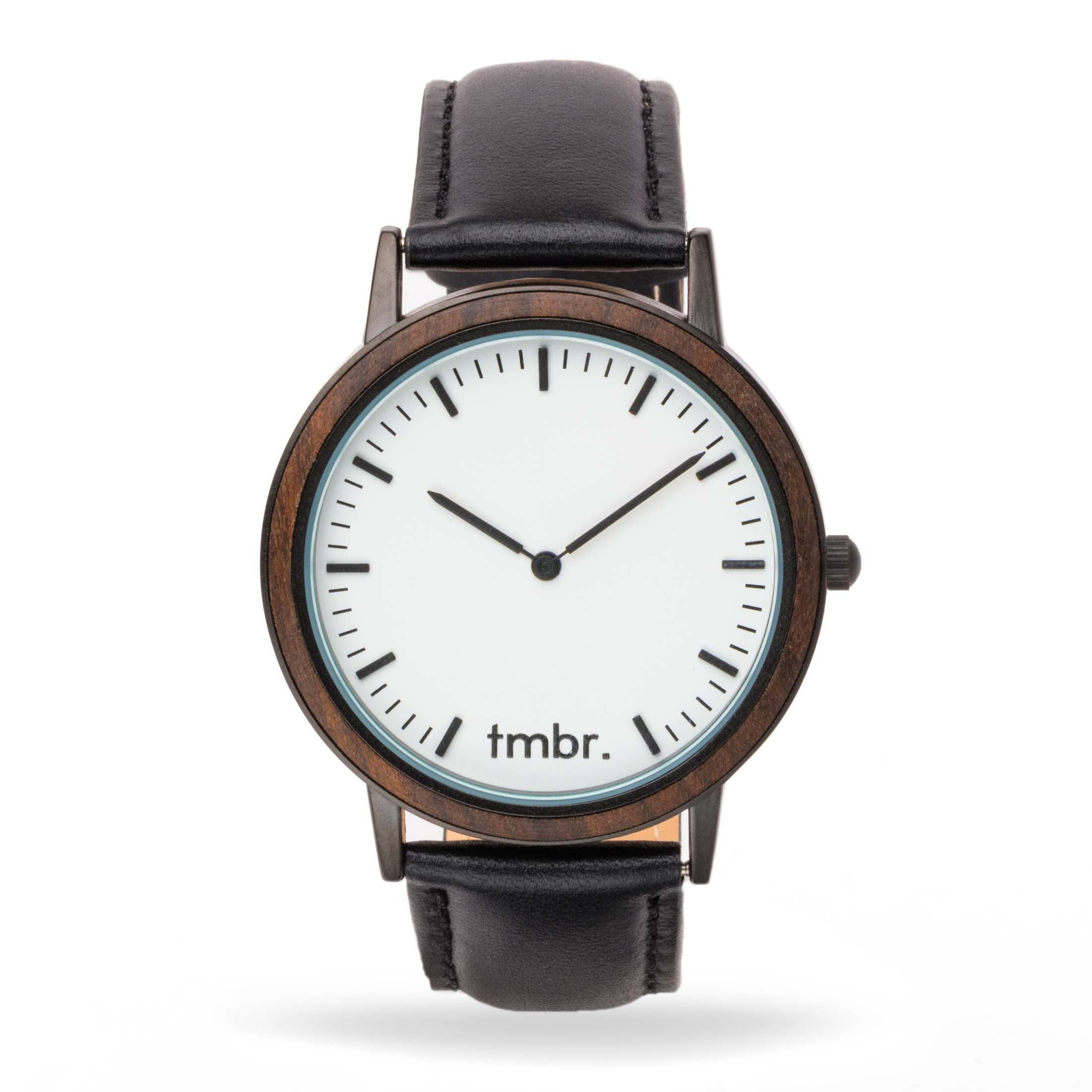 Engraved Tmbr Minimalist Wood Watch