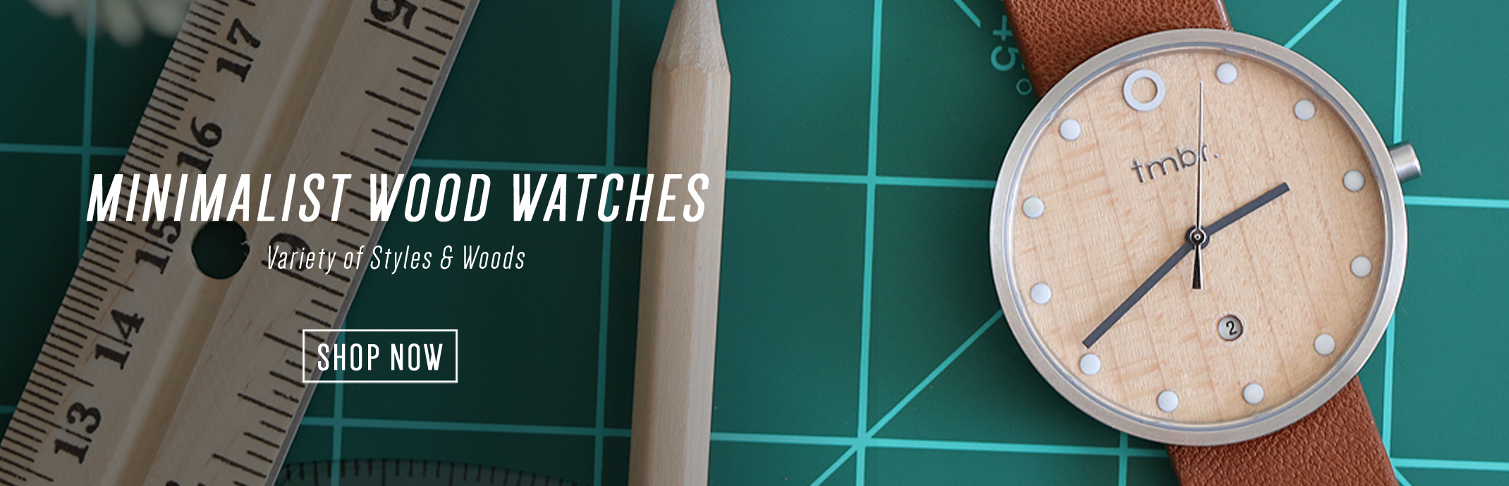 Tmbr. Minimalist Wood Watches For Men and Women