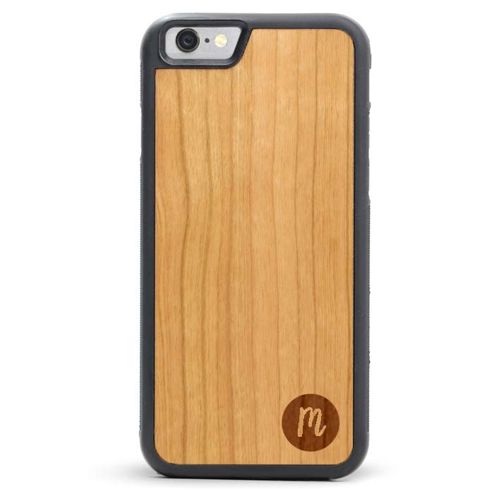 Wood iPhone 6/6s Plus Case - Circle