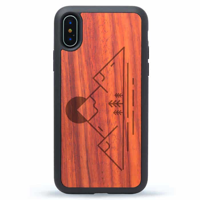 Simple Mountain iPhone XS Case