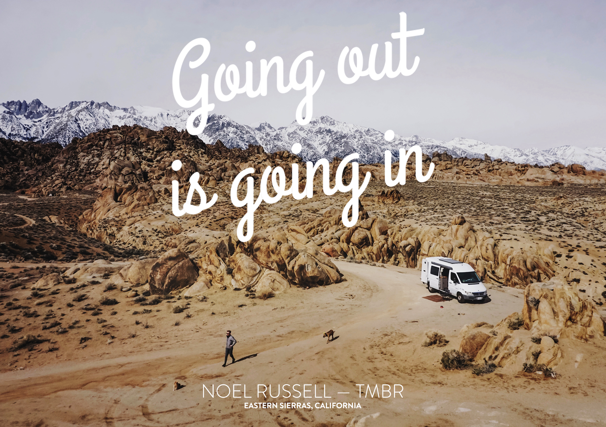 Going out is going in - Noel Russ