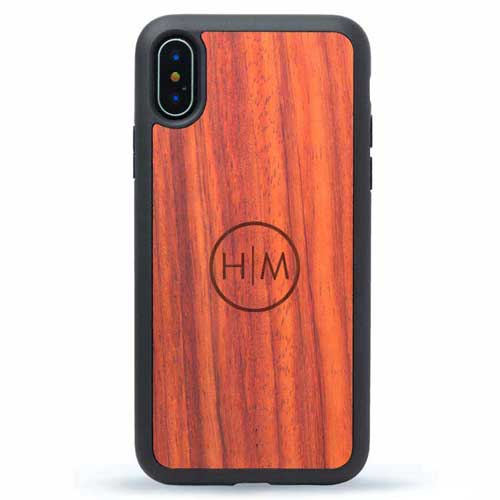 Wooden iPhone X Cases