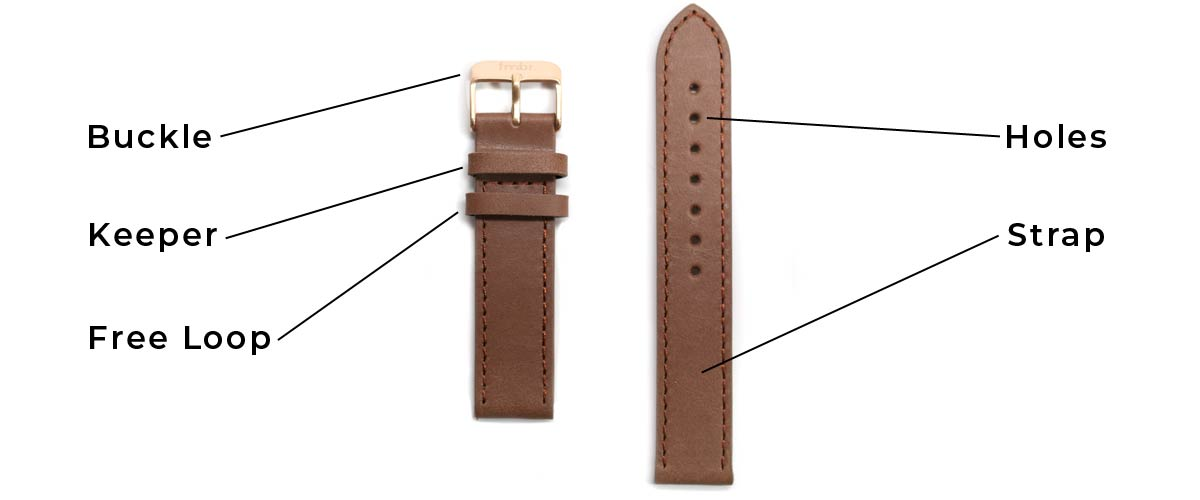 Parts of A Watch Strap