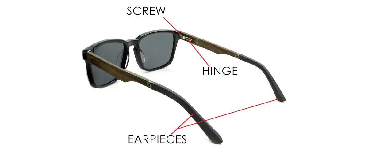 Parts of Sunglasses - Pieces