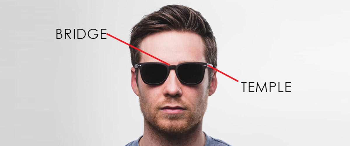 Parts of Sunglasses - Legs / Bridge